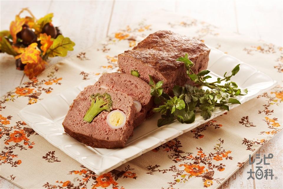 ミートローフ(合いびき肉+玉ねぎのみじん切りを使ったレシピ)