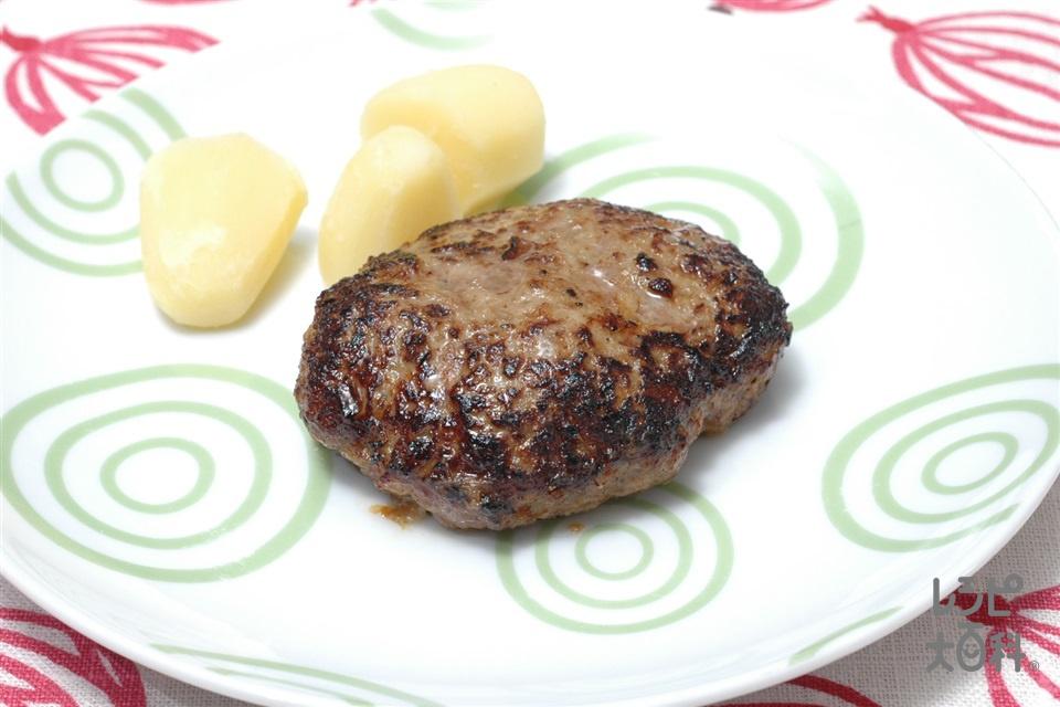 ハンバーグ(合いびき肉+生パン粉を使ったレシピ)