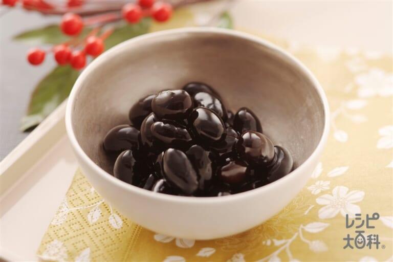 黒豆メープルシロップ風味