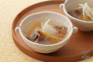 大根と牛肉のスープ煮