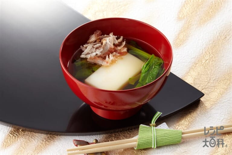 愛知のお雑煮(名古屋風お雑煮)