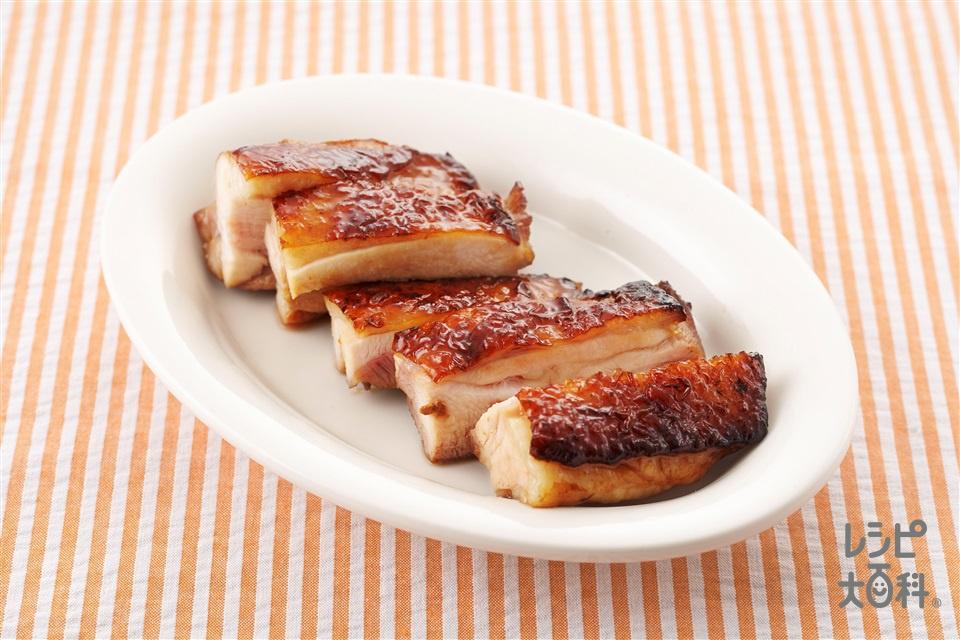 鶏の照り焼き(鶏もも肉(皮つき)+A酒を使ったレシピ)