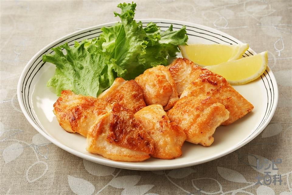鶏肉のレモン風味(鶏むね肉(皮つき)を使ったレシピ)