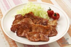 豚肉の照り焼き