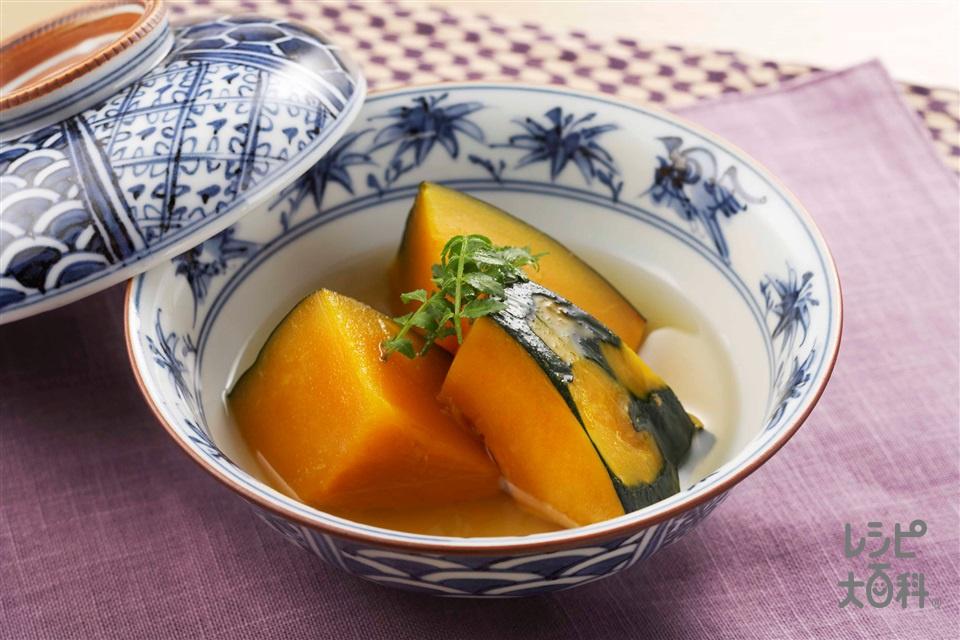 かぼちゃの含め煮(かぼちゃ+砂糖を使ったレシピ)