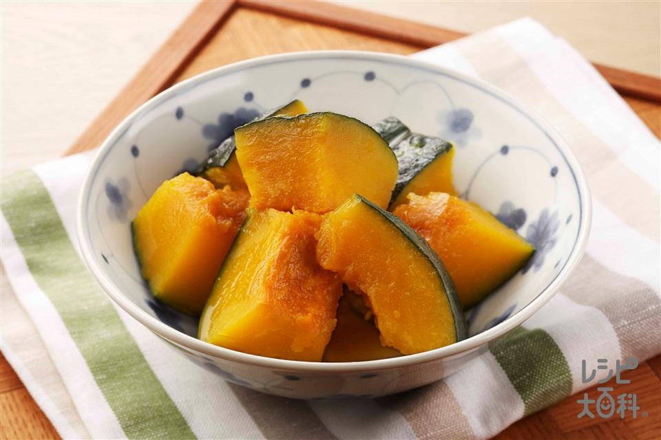 かぼちゃ 電子 レンジ かぼちゃをレンジでチンする方法。加熱時間や煮物の簡単レシピを紹介...