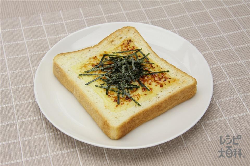 「ほんだし」チーズトースト(食パン6枚切り+スライスチーズ(溶けるタイプ)を使ったレシピ)