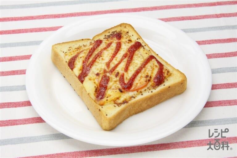 「ほんだし」PIZZA風トースト