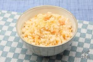 鮭ご飯(米+さけを使ったレシピ)