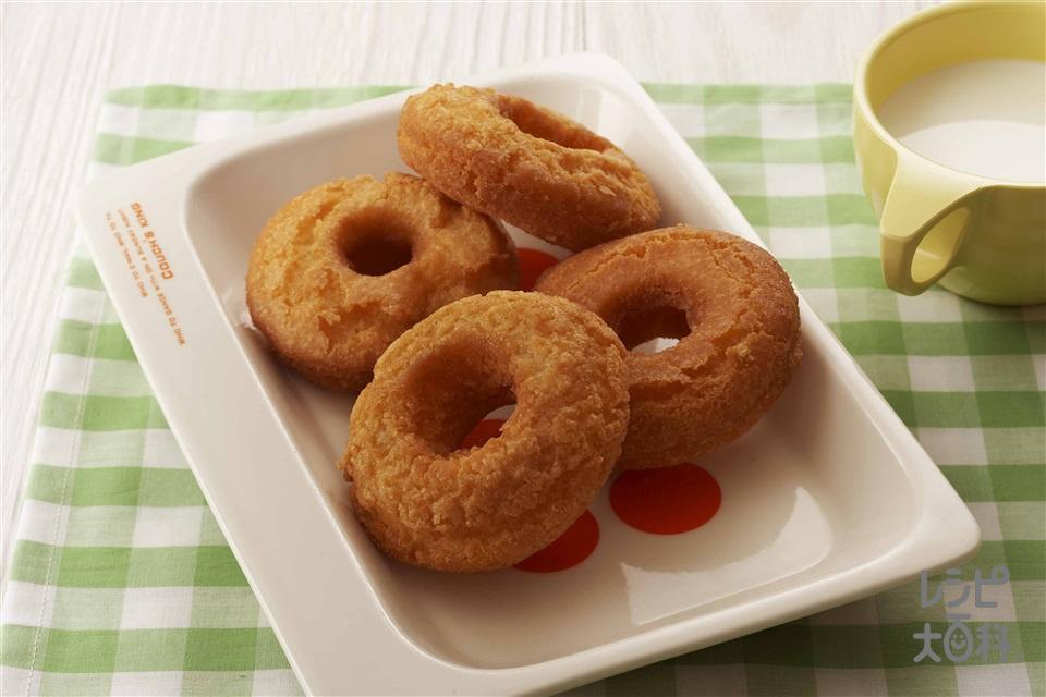ドーナッツ(砂糖+薄力粉を使ったレシピ)