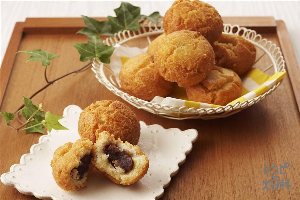 あんドーナッツ(薄力粉+こしあんを使ったレシピ)