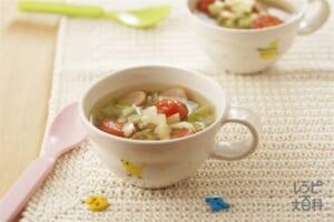 カラフル野菜スープ