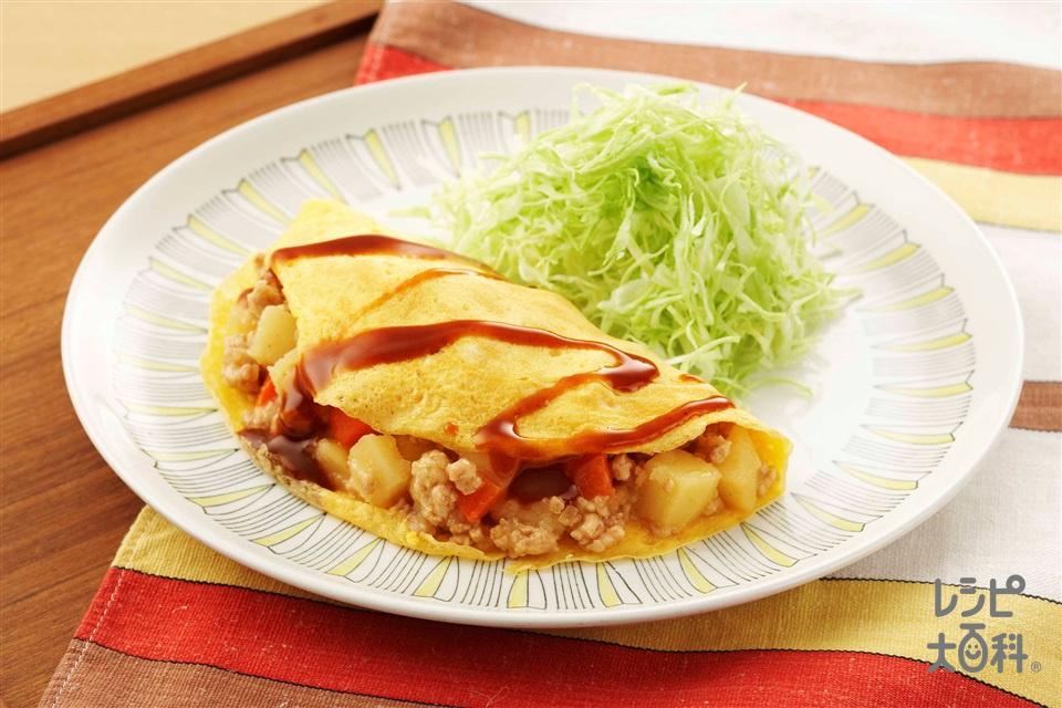 和風オムレツ(玉ねぎ+じゃがいもを使ったレシピ)