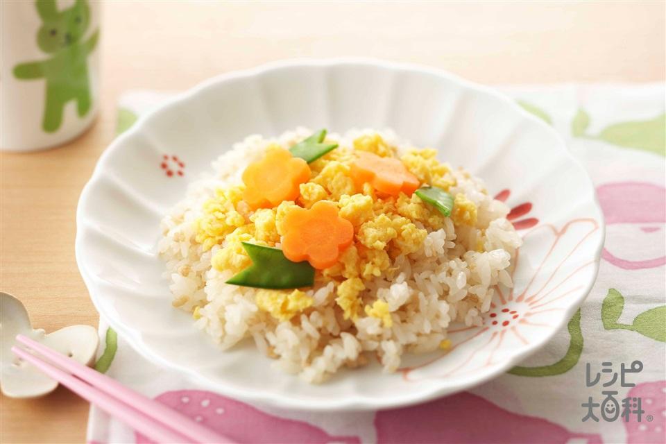 そぼろと卵のちらし寿司(炊きたてご飯+A酢を使ったレシピ)
