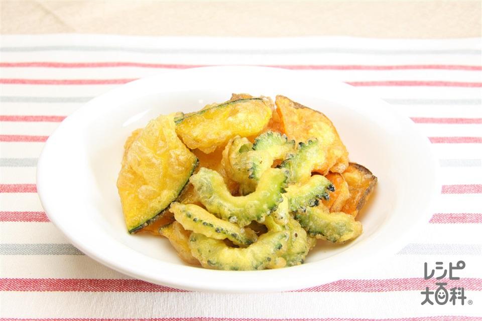 野菜の薄揚げ(にんじん+溶き卵を使ったレシピ)