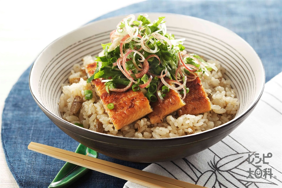 ごぼう飯 うな丼(米+ごぼうを使ったレシピ)