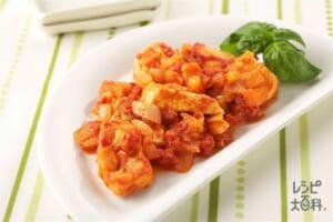 かじきのトマト煮