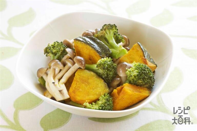 彩り野菜の蒸し焼き