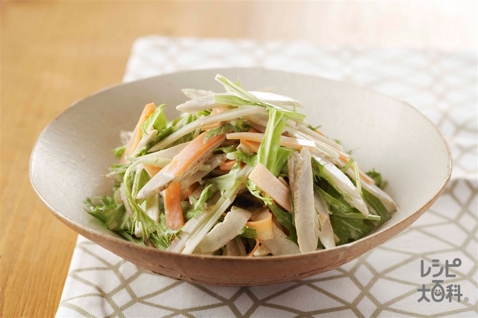 ごぼうのサラダ(ごぼう+にんじんを使ったレシピ)