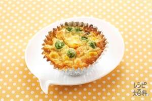 カップ卵焼き(卵+牛乳を使ったレシピ)