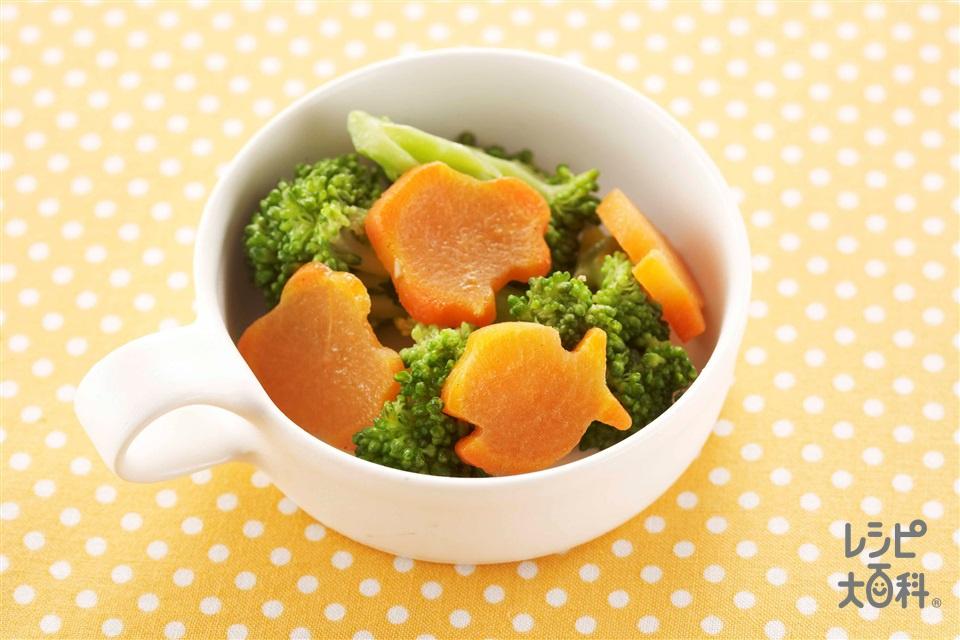 ブロッコリーとにんじんのソテー(ブロッコリー+にんじんを使ったレシピ)