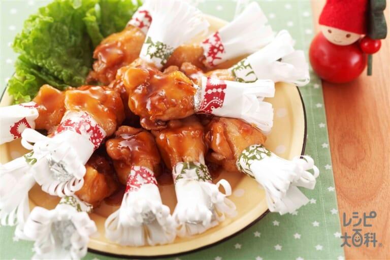 マーマレード照り煮チキン