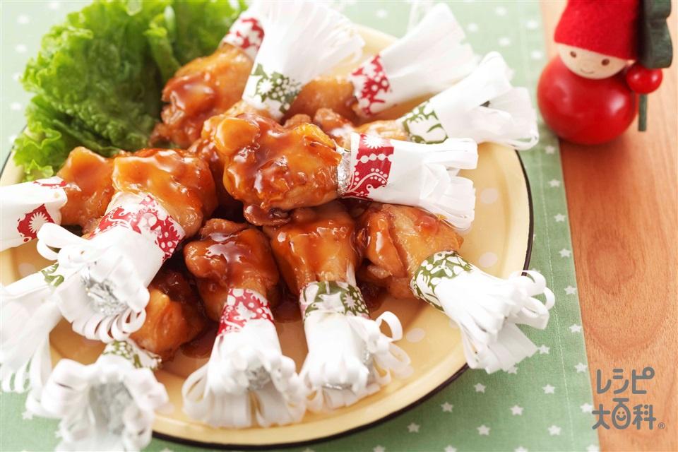 マーマレード照り煮チキン(鶏手羽元+「味の素KKコンソメ」顆粒タイプを使ったレシピ)