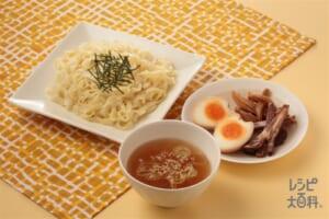 つけ麺(中華めん+砂糖を使ったレシピ)