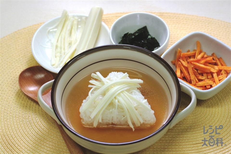 おにぎリゾット チーズ編(チーズを使ったレシピ)