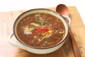 超簡単カレースープ ~たぶんインド王宮風のサラダスープ~(+を使ったレシピ)
