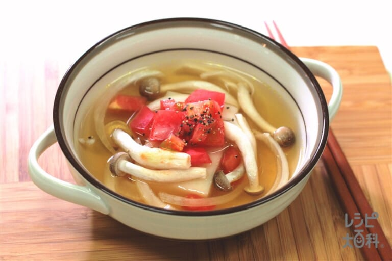 レンチン雑煮(洋風)