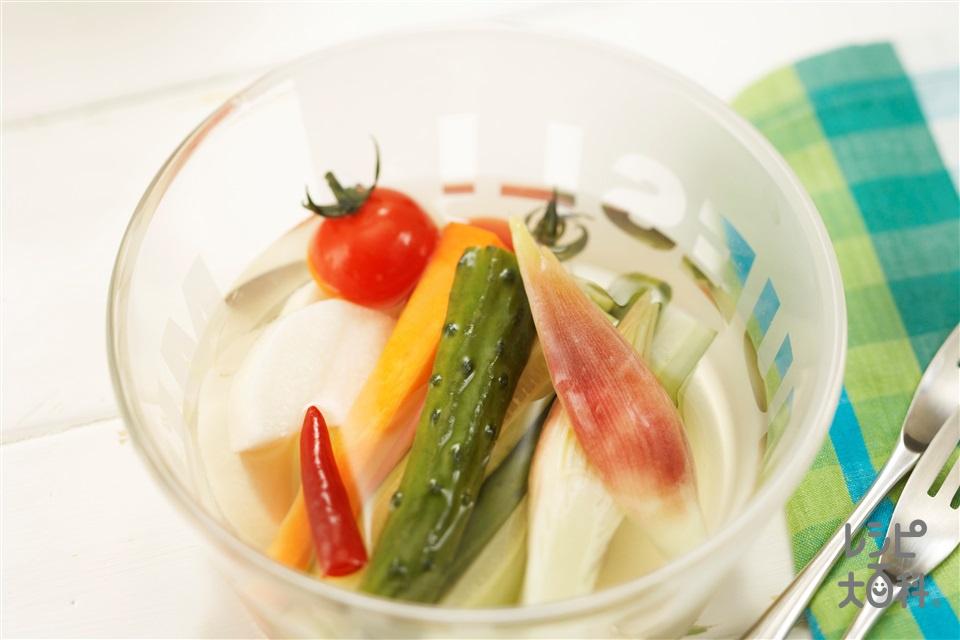 クールピクルス(きゅうり+長いもを使ったレシピ)