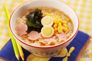 ラーメン風にゅう麺