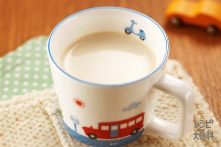 ホットきなこミルク