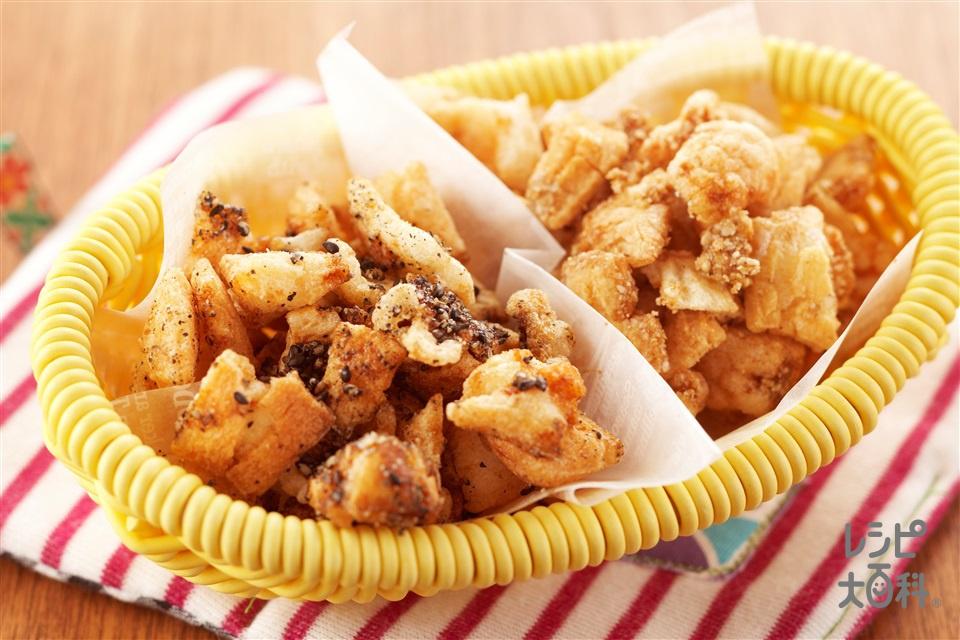 ごまおかき(切り餅+すり黒ごまを使ったレシピ)