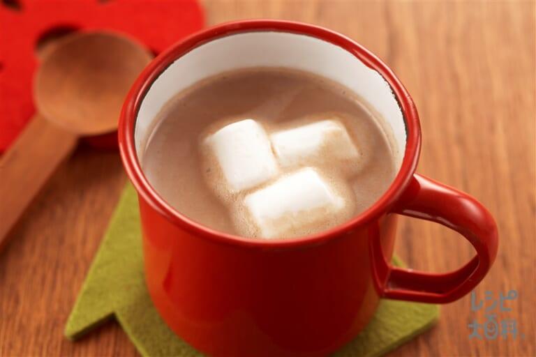 マシュマロ豆乳ココア