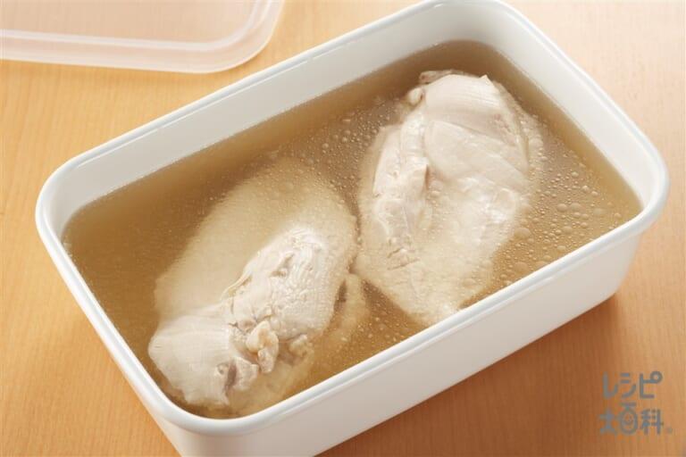 しっとりゆで鶏