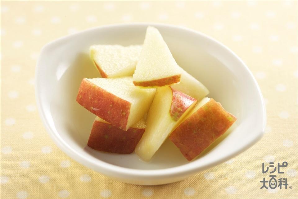 りんごのマリネ(りんご+レモン汁を使ったレシピ)