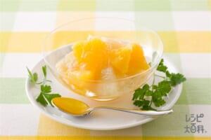 グレープフルーツとオレンジの食べジャム(寒天入り)