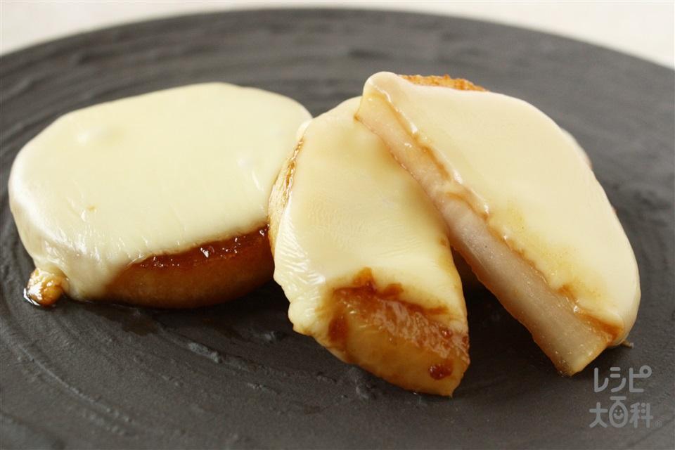 とろーり大根チーズ照り焼き(大根+溶けるチーズを使ったレシピ)
