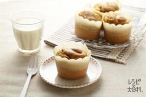 紅茶のマフィン(卵+薄力粉を使ったレシピ)