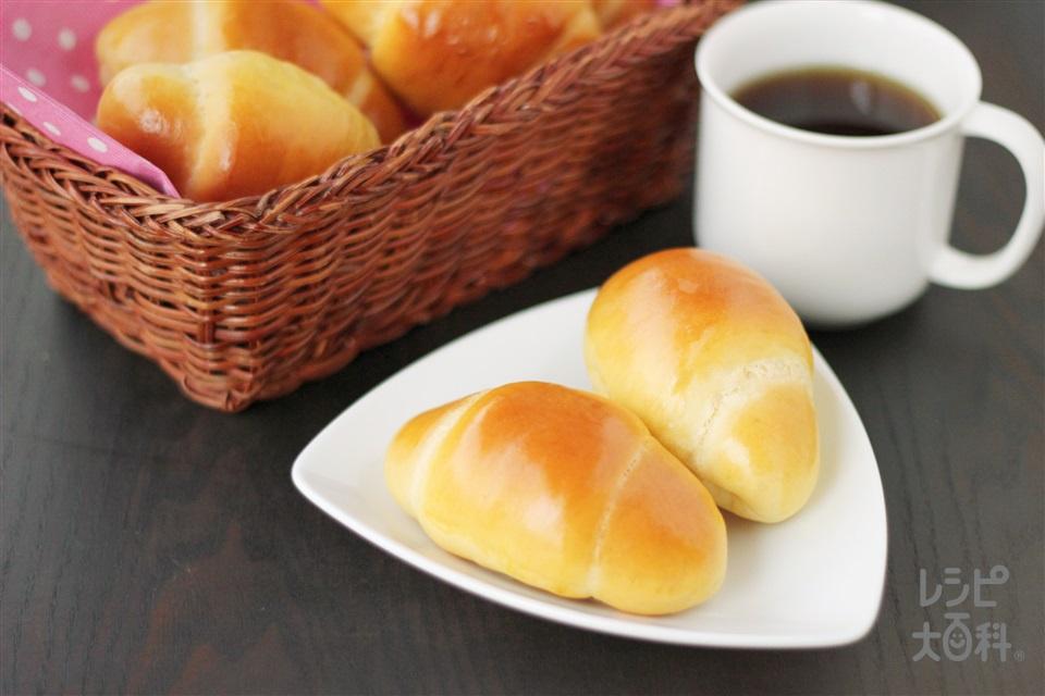 ホームベーカリーで作る「コンソメ」ロールパン (強力粉+卵を使ったレシピ)