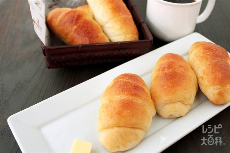 GOPANで作る「コンソメ」米粉ロールパン