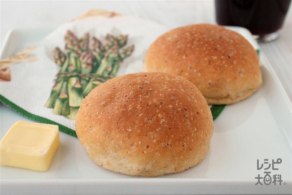 GOPANで作る「コンソメ」米粉ベーコンパン (米+ベーコンを使ったレシピ)
