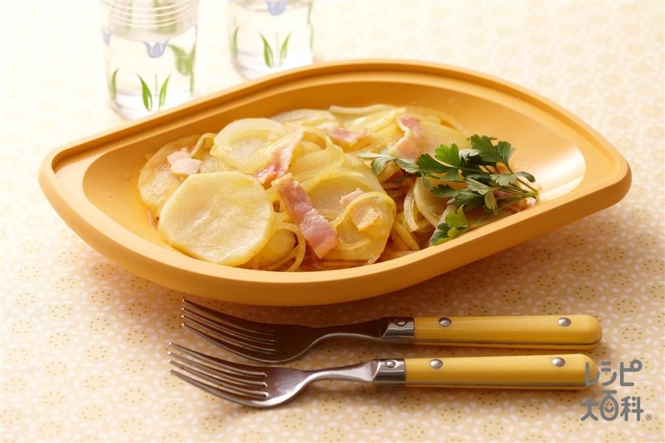ジャーマンポテト カレー風味(じゃがいも+玉ねぎを使ったレシピ)