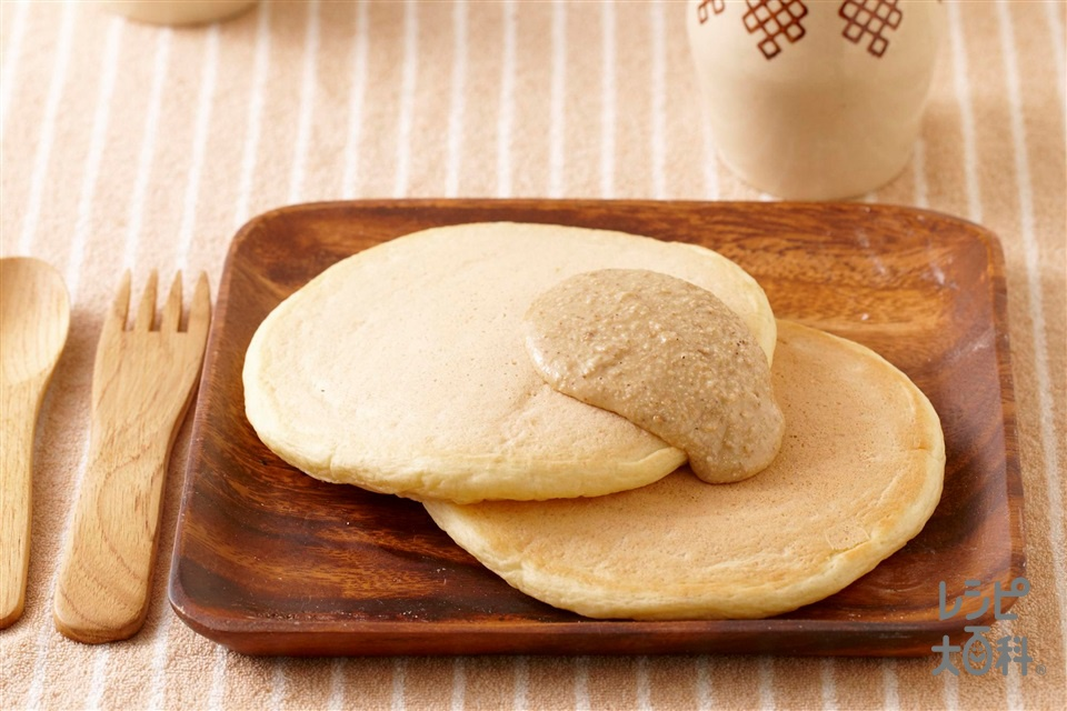 お豆腐パンケーキ(A絹ごし豆腐+A調整豆乳を使ったレシピ)