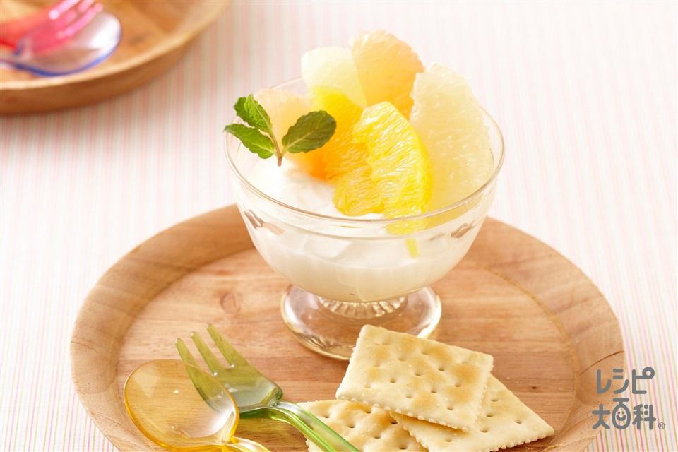 レアチーズヨーグルト(クリームチーズ+プレーンヨーグルトを使ったレシピ)