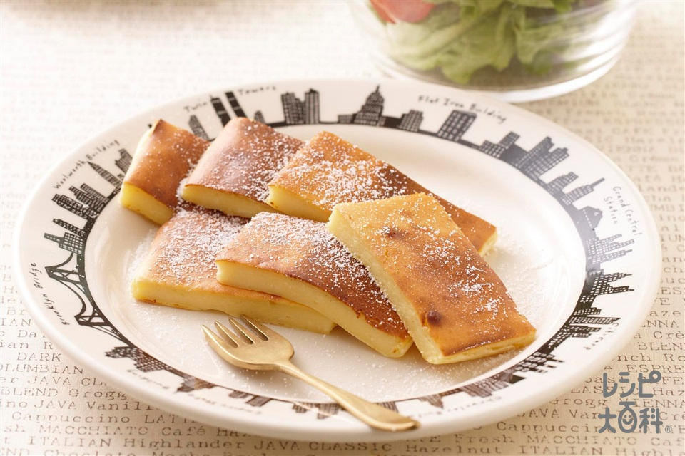 朝チーズケーキ(クリームチーズ+「パルスイート」を使ったレシピ)
