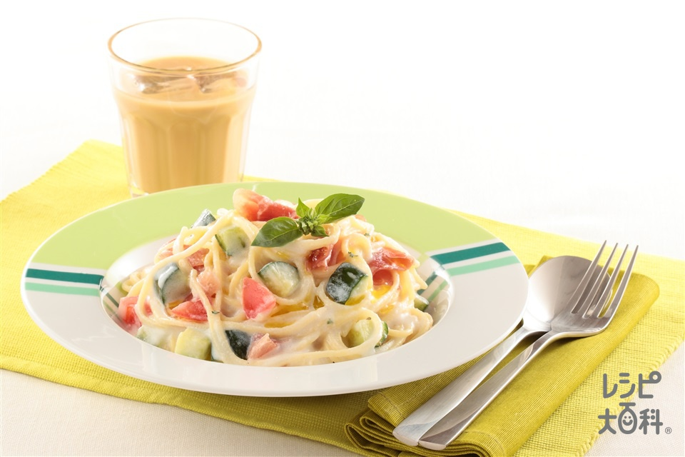 じゃがいもの冷製パスタ(スパゲッティ+牛乳を使ったレシピ)