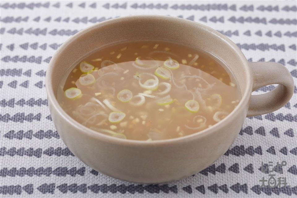 超ショウガなスープ